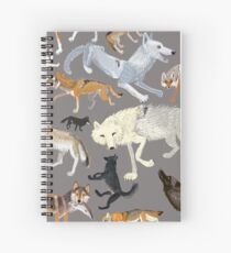 Wolves of the world 1 Cuaderno de espiral