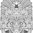 Bali Mask  by PeterAndrew