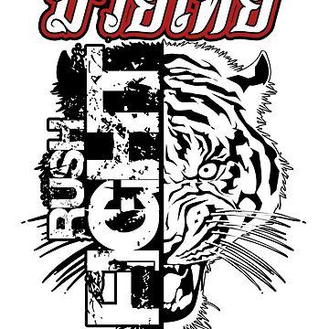 Muay Thai Rush Fight by lu2k