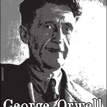 George Orwell Rolls In His Grave by thedrumstick