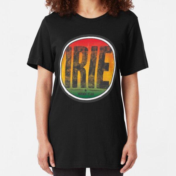 irie - movement of jah Slim Fit T-Shirt
