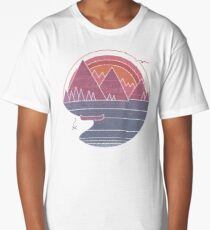 The Mountains Are Calling Long T-Shirt