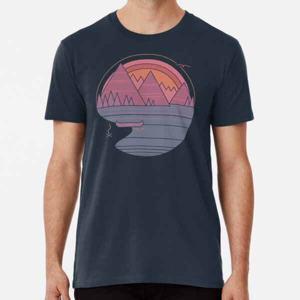 The Mountains Are Calling Premium T-Shirt