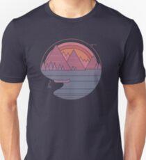 Die Berge rufen an Slim Fit T-Shirt