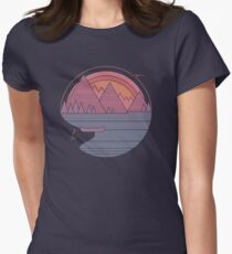 The Mountains Are Calling Women's Fitted T-Shirt