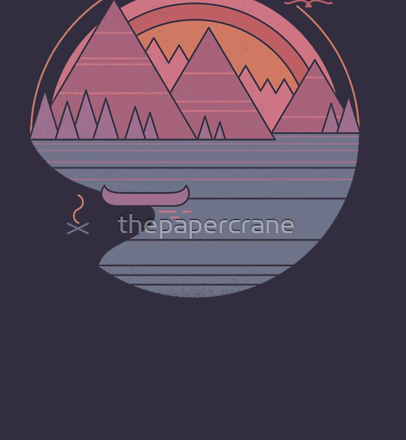 The Mountains Are Calling by thepapercrane