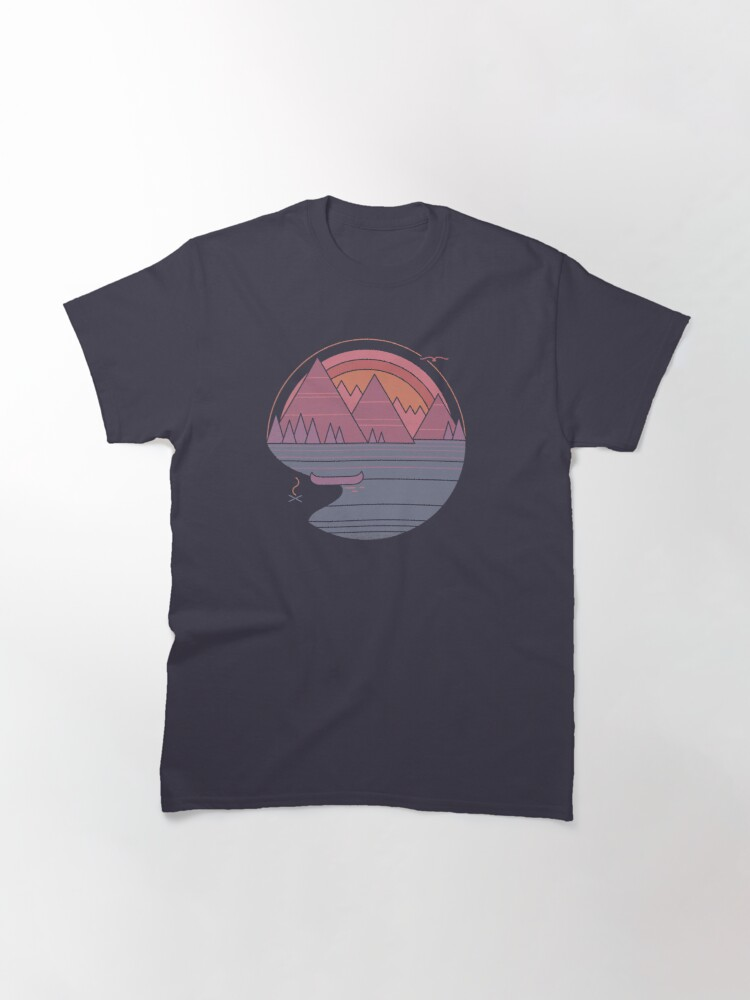 Alternate view of The Mountains Are Calling Classic T-Shirt