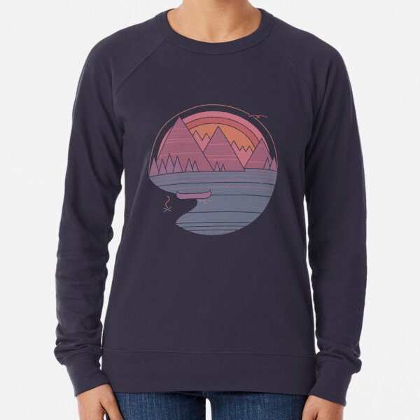The Mountains Are Calling Lightweight Sweatshirt