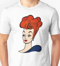 Lucille Ball Profile Unisex T-Shirt