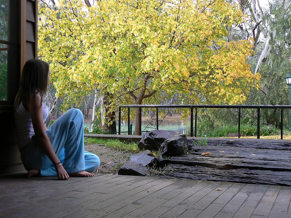 Love the autumn rain by Camillam