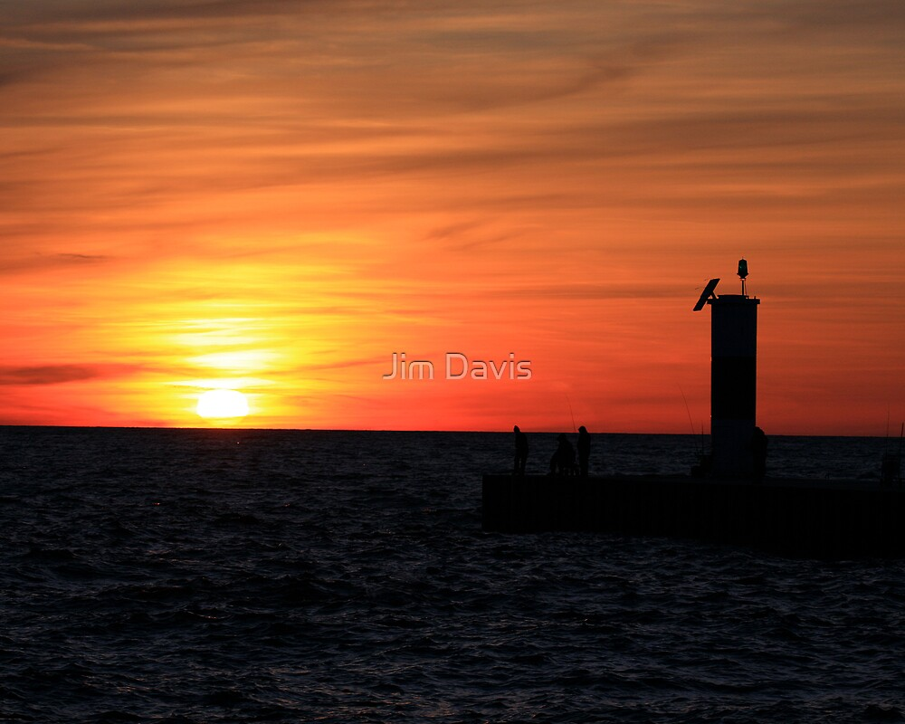 End of the Day by Jim Davis