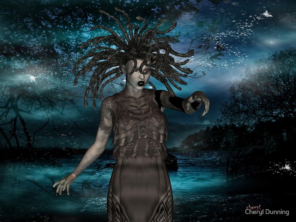 medusa by Cheryl Dunning