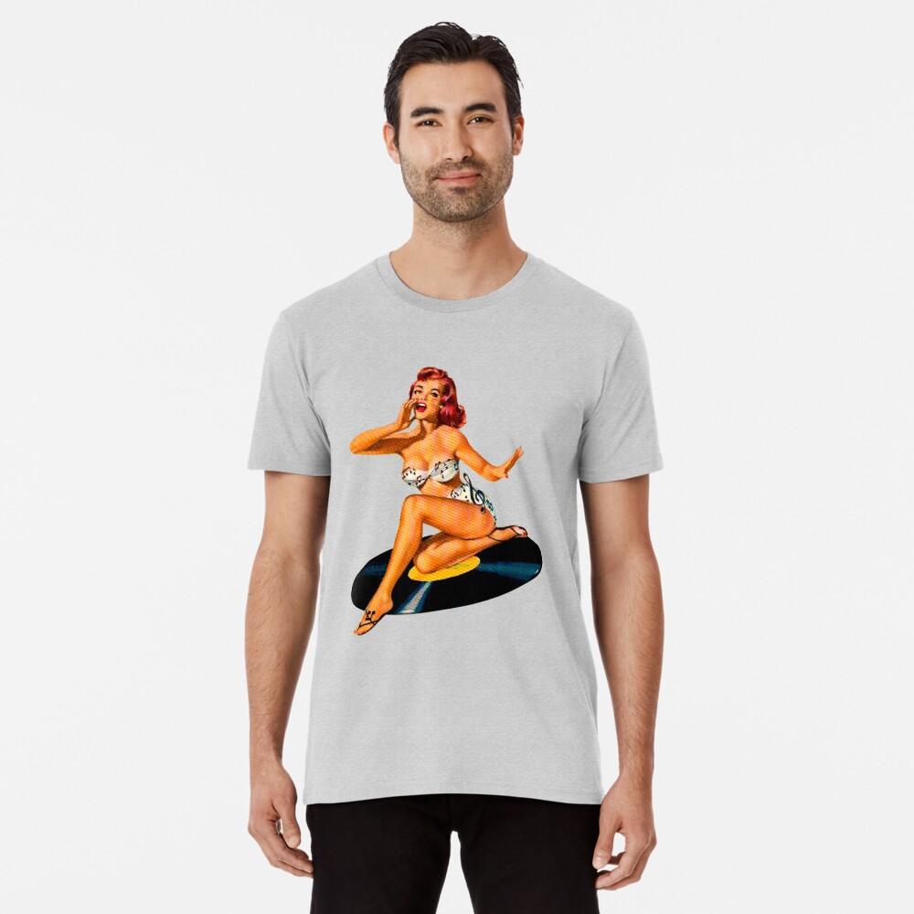 Diosa del Rockabilly Camiseta premium