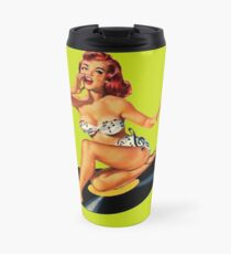 Rockabilly Goddess Travel Mug