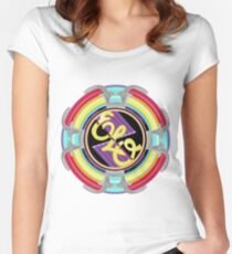 E.L.O. SPACESHIP Women's Fitted Scoop T-Shirt