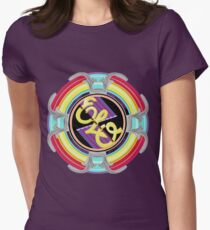 E.L.O. SPACESHIP Womens Fitted T-Shirt
