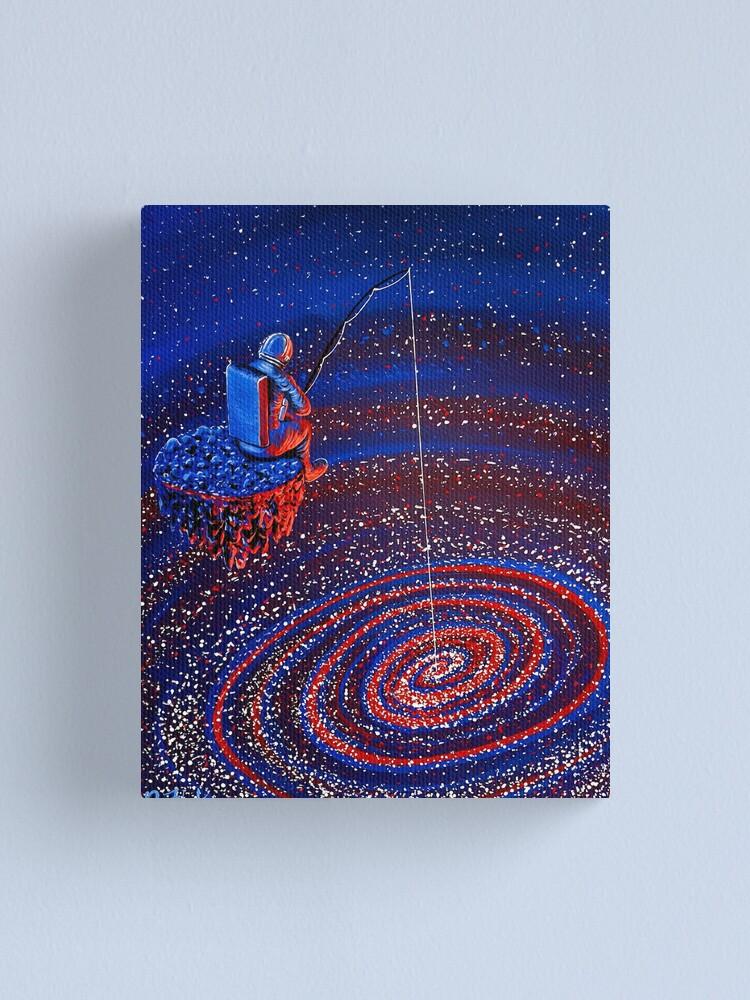 Alternate view of Gone Fishin Canvas Print