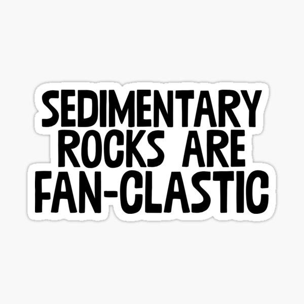 Sedimentary Rocks / Geologist Rocks Geology Sticker