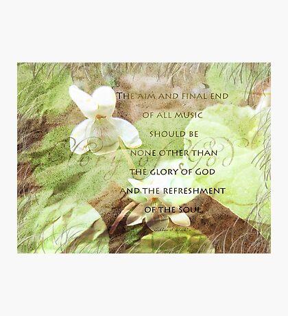 The Glory of God-inspirational Photographic Print