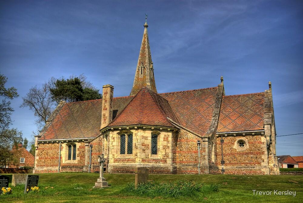 St Stephens Church - Aldwark near York by Trevor Kersley