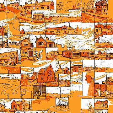 Comic Pattern by FrederickJay