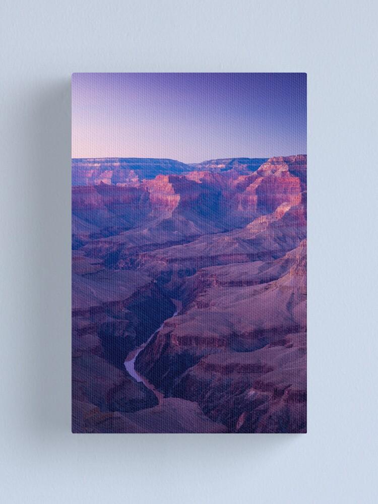 Alternate view of USA. Arizona. Grand Canyon.(Alan Copson ©) Canvas Print