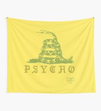 Don't Tread On Me Psycho Wall Tapestry