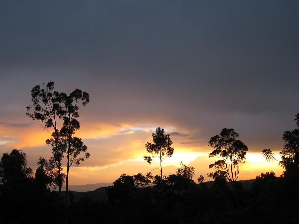 sunset near moshi by mzungu