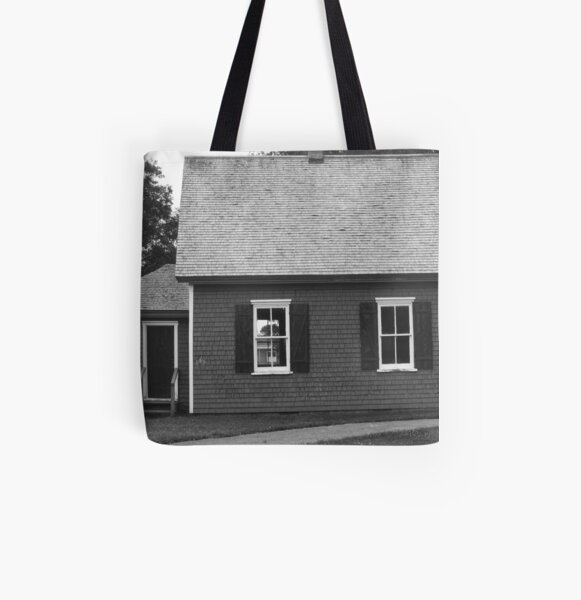 PEI School House All Over Print Tote Bag