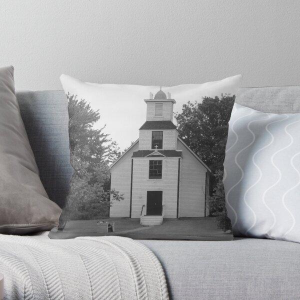 PEI Church Throw Pillow