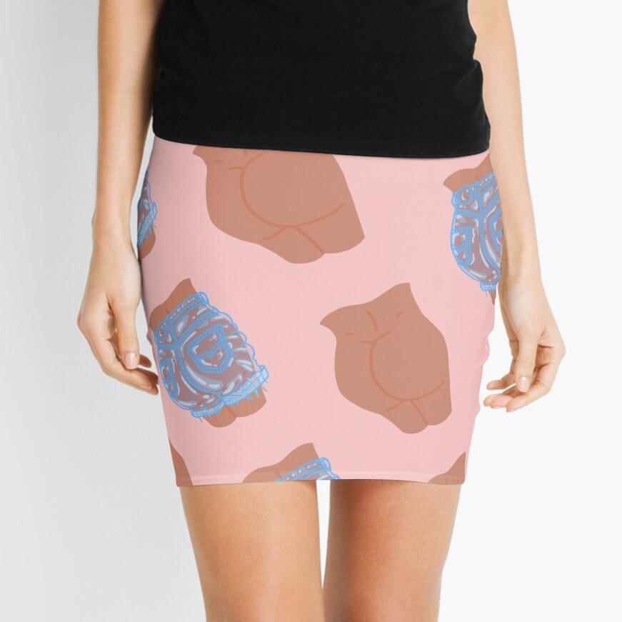 Bubble but mini skirts Bubble Butt Mini Skirt By Lauraoconnor Redbubble