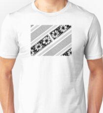 Designer flower geometry pattern Unisex T-Shirt