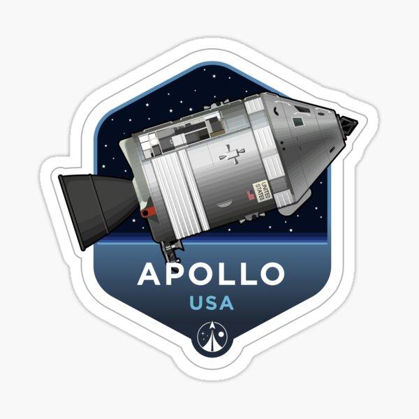 Space Race Series - APOLLO Sticker