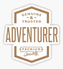 Adventurer - Funny Job and Hobby Sticker