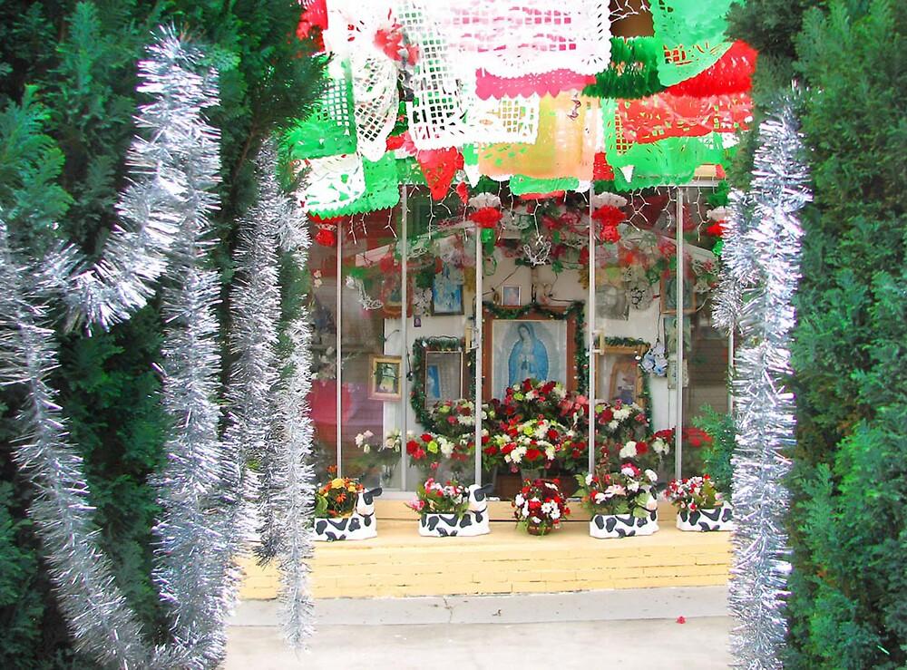 Saintly Christmas Scene by realschatan