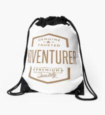Adventurer - Funny Job and Hobby Drawstring Bag