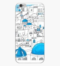 Santorini Blue and White Paradise iPhone Case
