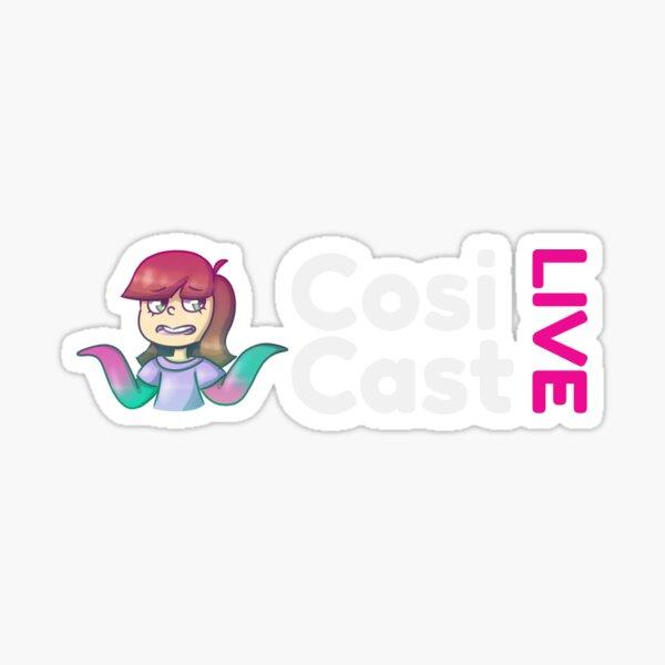 CosiCast LIVE Logo Sticker