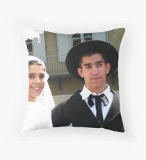 "A Gypsey Wedding"" Throw Pillow"