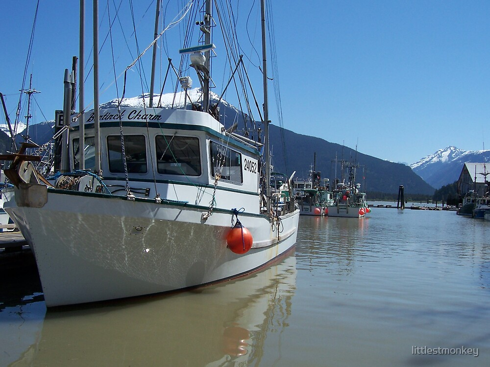 Bella Coola Boat by littlestmonkey