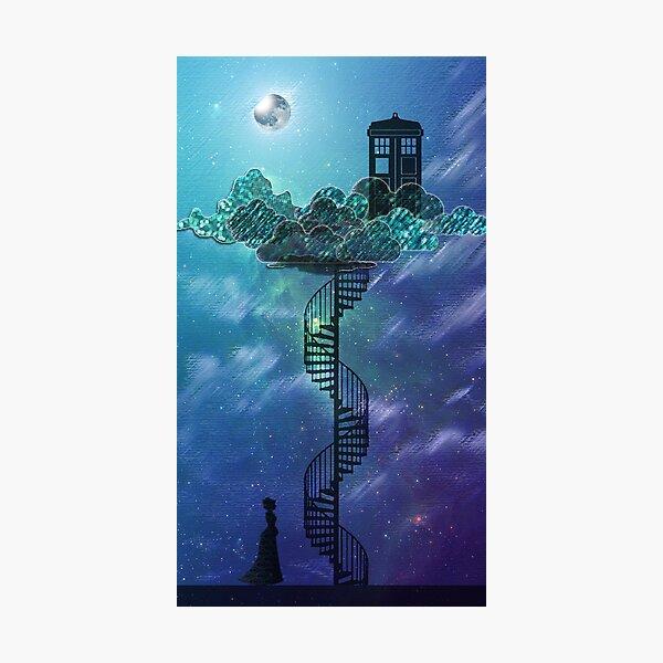 Blue Box dans le ciel victorien Impression photo