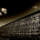 Rochfort Rail Bridge..Sepia by peaceofthenorth