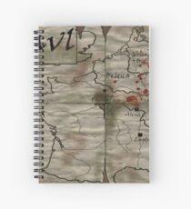 Gaul Spiral Notebook