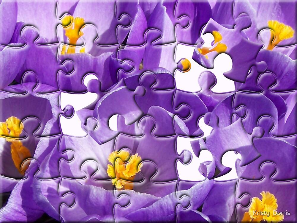 Crocus Fun by Kristy Dalpez
