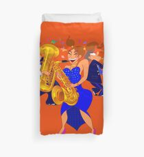 Brass Ensemble Duvet Cover