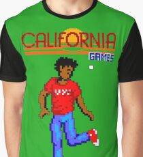 CALIFORNIA GAMES - FOOTBAG - MASTER SYSTEM Graphic T-Shirt