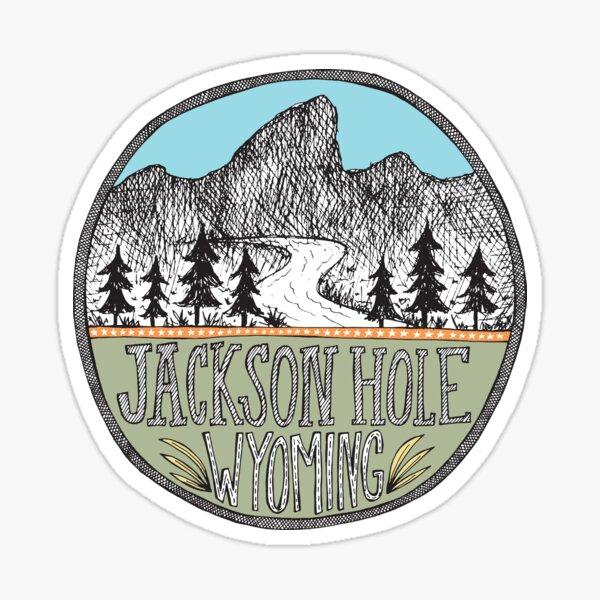 Jackson Hole Wyoming  Sticker