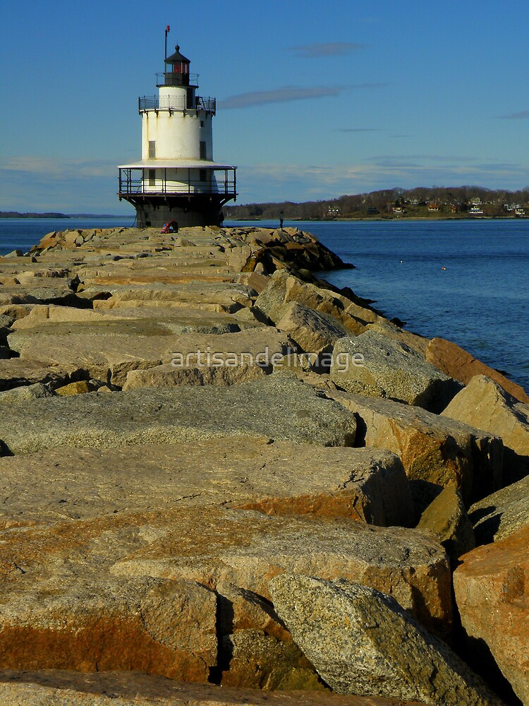 Spring Point Ledge Light ~ Part One by artisandelimage