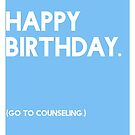 Birthday (GTC) Greeting Care - Blue by CXMH