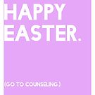 Easter (GTC) Greeting Card by CXMH